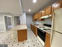 Full In-Law Suite Kitchen with peninsula - 6311 WILLOWFIELD WAY, SPRINGFIELD