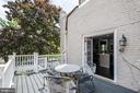 Kitchen deck - 2301 1ST ST NW, WASHINGTON
