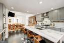 Kitchen facing dining area - 2301 1ST ST NW, WASHINGTON