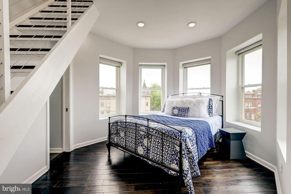 Master bedroom - 2301 1ST ST NW, WASHINGTON