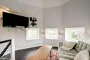 Loft area above master bedroom - 2301 1ST ST NW, WASHINGTON