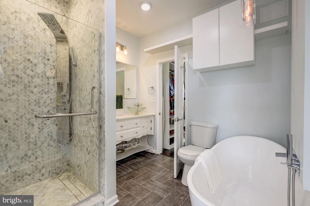 Master bath - 2301 1ST ST NW, WASHINGTON