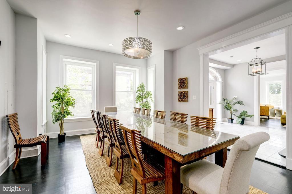 Dining room - 2301 1ST ST NW, WASHINGTON