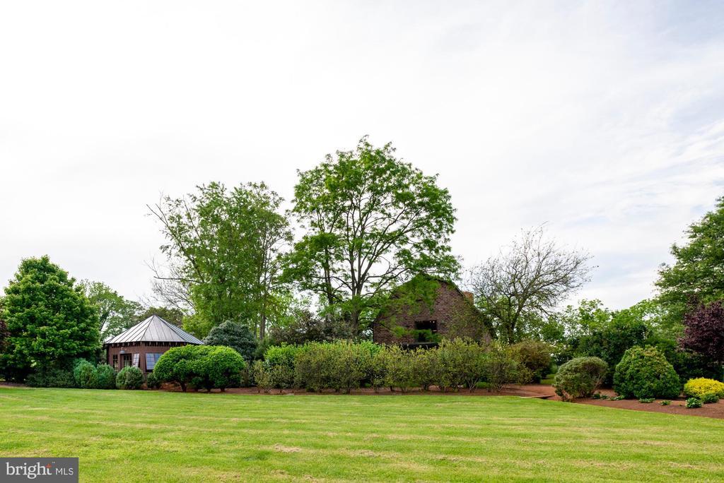 View from cutting garden. Barn and chicken coop - 8394 ELWAY LN, WARRENTON