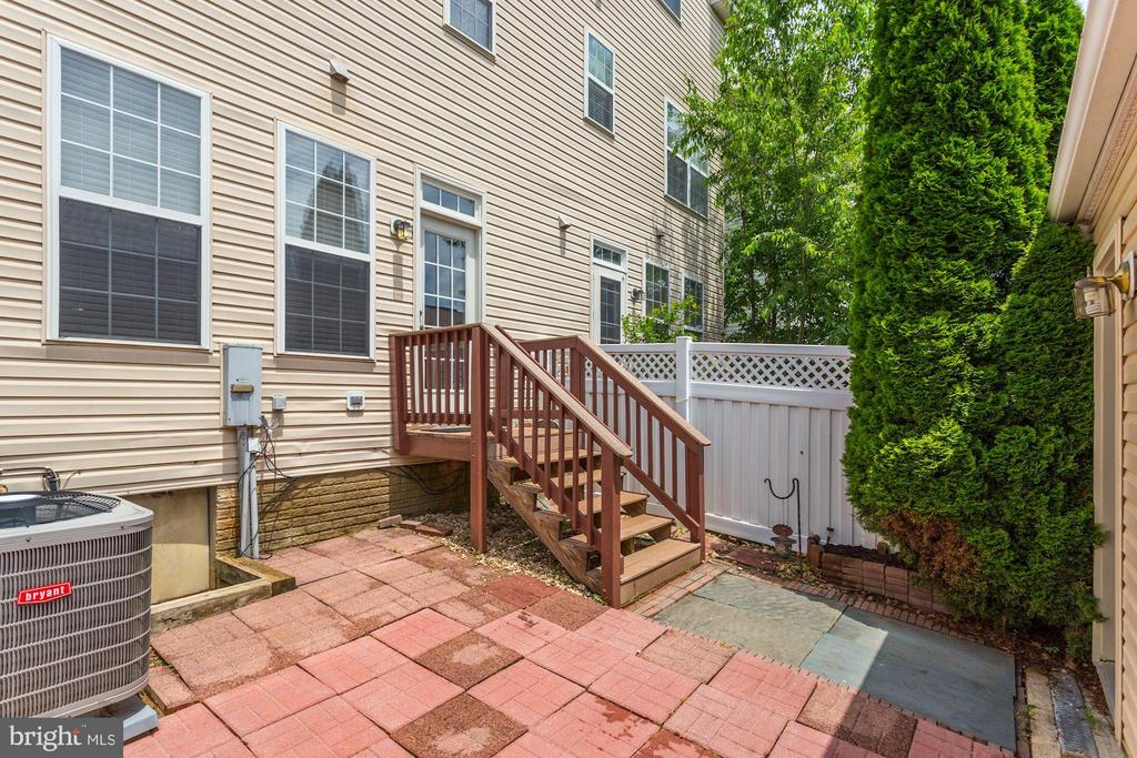 Rear Patio - 28 GOLDEN ASH WAY, GAITHERSBURG