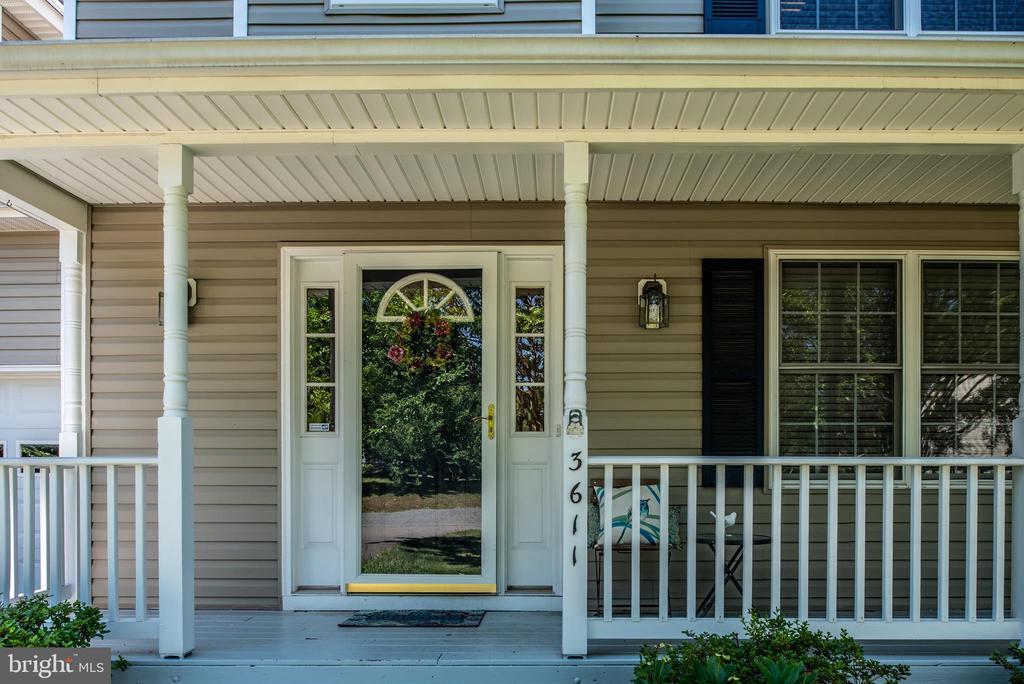 Wonderful Front Porch - 3611 ALBERTA DR, FREDERICKSBURG