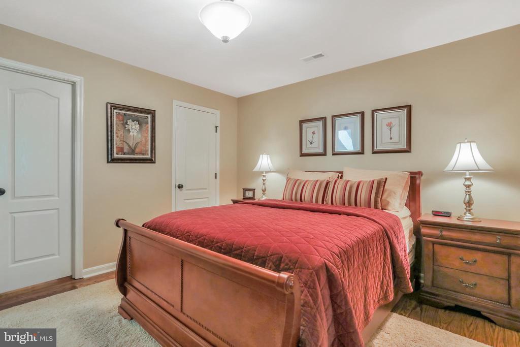 Bedroom with hardwood floors - 92 EARLE RD, CHARLES TOWN