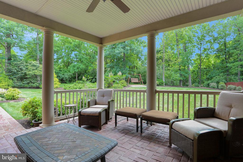 Enjoy beautiful views from covered porch - 92 EARLE RD, CHARLES TOWN
