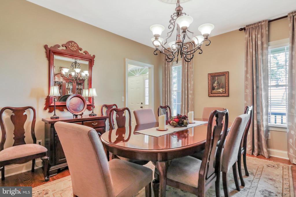 Formal Dining Room featuring Hardwood Floors - 92 EARLE RD, CHARLES TOWN
