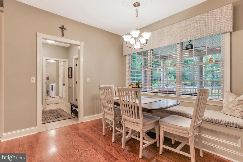 Breakfast area featuring natural light - 92 EARLE RD, CHARLES TOWN