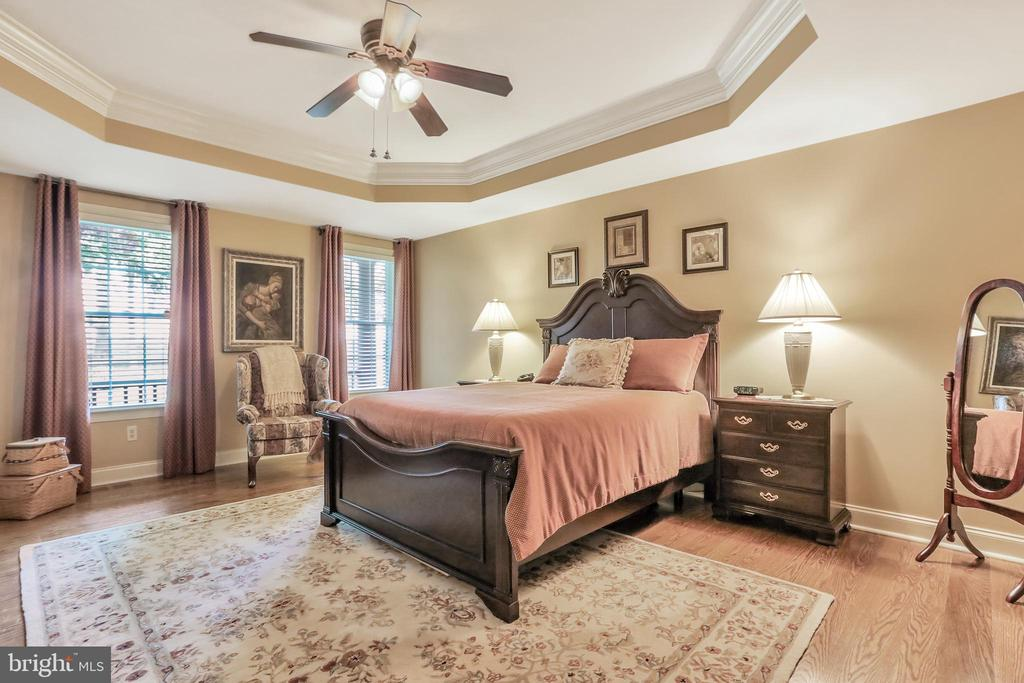 Master Bedroom with Tray Ceiling - 92 EARLE RD, CHARLES TOWN