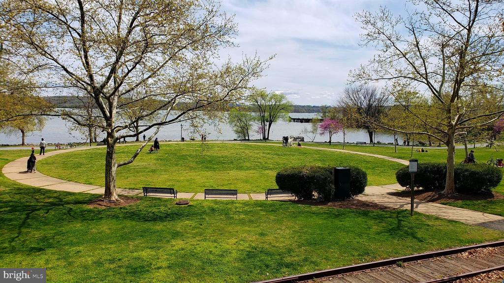 Oronoco Bay Park across the street. - 400 MADISON ST #607, ALEXANDRIA