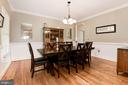 Dining Room - 20634 ST LOUIS RD, PURCELLVILLE