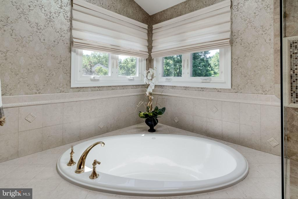 Master Bath Soaking Tub - 8523 SILVERVIEW DR, LORTON