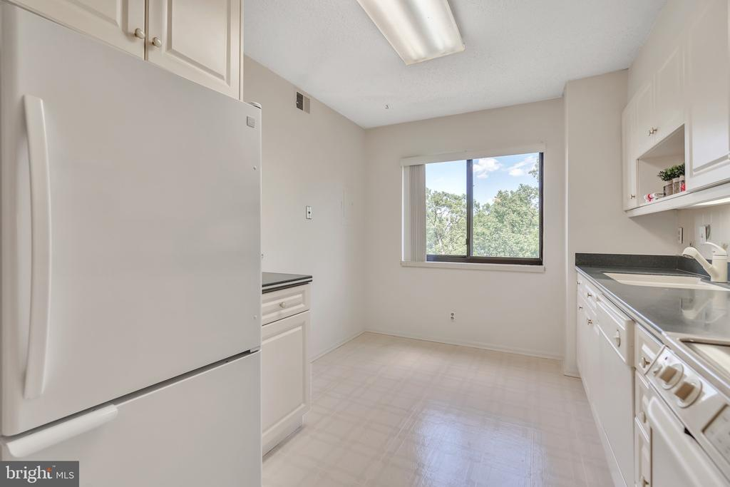 Plenty of room for a table or prep station - 5903 MOUNT EAGLE DR #610, ALEXANDRIA