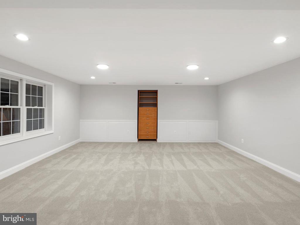 Lower Level Media Room - 13716 SAFE HARBOR CT, ROCKVILLE