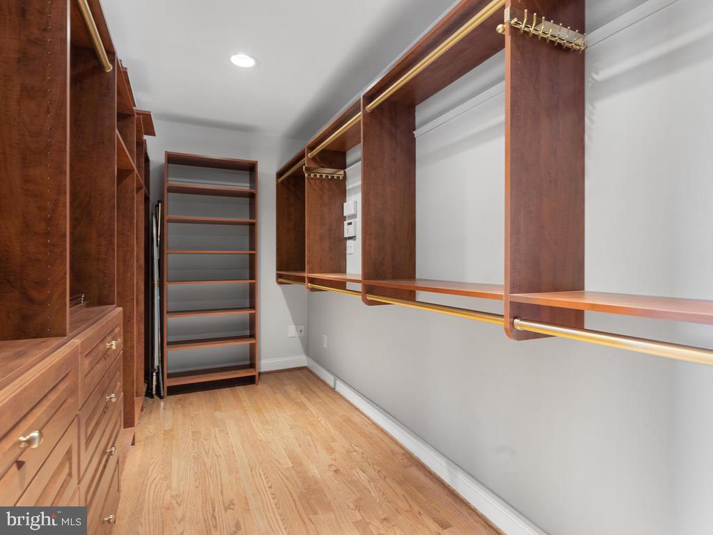 Master Bedroom Walk-in Closet - 13716 SAFE HARBOR CT, ROCKVILLE