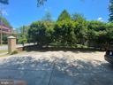 Tree lined driveway - 6320 BALTIMORE AVENUE, UNIVERSITY PARK