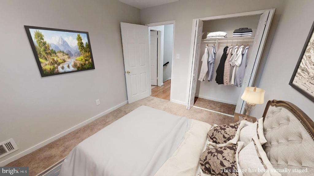 Bedroom 3, view 2 - 2310 14TH ST NE, WASHINGTON
