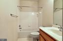 Full Bathroom on Lower Level - 1216 GAITHER RD, ROCKVILLE