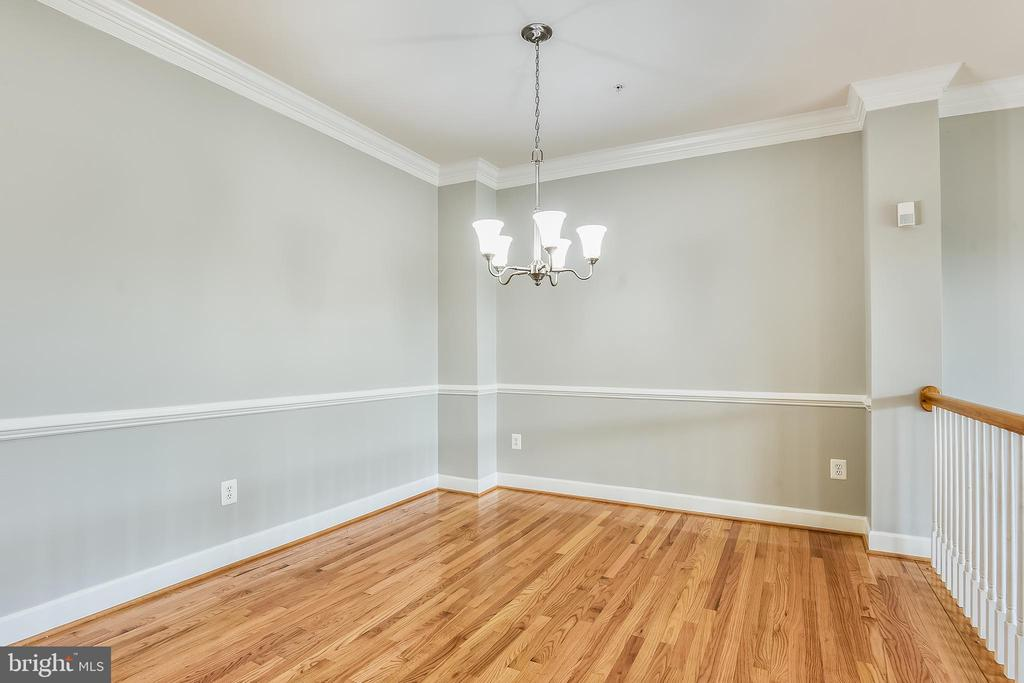 Formal Dining Room with Hardwood Floors - 1216 GAITHER RD, ROCKVILLE