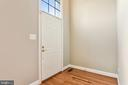 Two story Foyer with Hardwood - 1216 GAITHER RD, ROCKVILLE