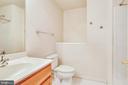 Full Hall Bathroom on Upper Level - 1216 GAITHER RD, ROCKVILLE