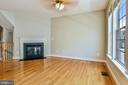 Gas Fireplace and Hardwood Floors - 1216 GAITHER RD, ROCKVILLE