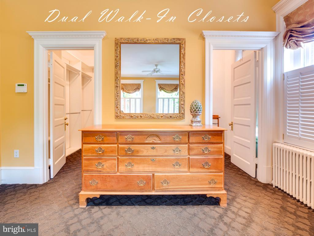 Dual Walk-in Closets - 712 E CAPITOL ST NE, WASHINGTON