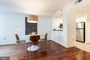 Pass through window from kitchen to dining - 1150 K ST NW #411, WASHINGTON