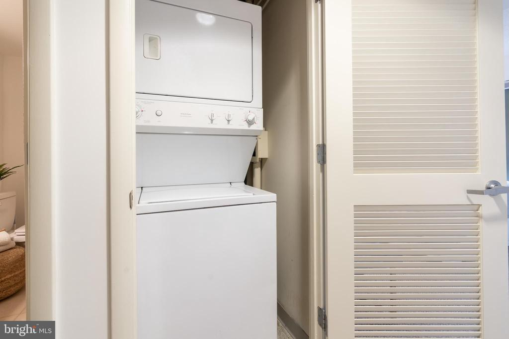 Washer and dryer in unit - 1150 K ST NW #411, WASHINGTON