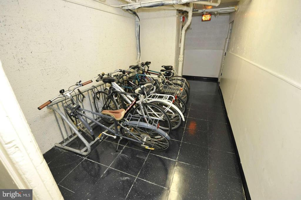 Bike are in lower level of the building - 2153 CALIFORNIA ST NW #306, WASHINGTON