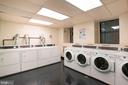 Laundry room in lower level of the building - 2153 CALIFORNIA ST NW #306, WASHINGTON