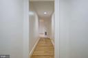 Enterance hall and hallway with hardwood floors - 2153 CALIFORNIA ST NW #306, WASHINGTON