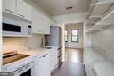 Updated galley kitchen with  new quartz countertop - 2153 CALIFORNIA ST NW #306, WASHINGTON