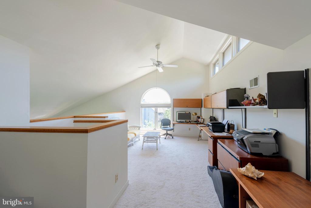 Loft that can be used as an office or 3rd Bedroom - 7024 CHANNEL VILLAGE CT #201, ANNAPOLIS