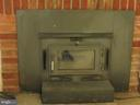 Wood burning stove - 5825 BROOKVIEW DR, ALEXANDRIA