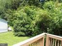 View from the deck - 5825 BROOKVIEW DR, ALEXANDRIA