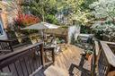 Access to rear deck & garden from living room - 112 5TH ST SE, WASHINGTON