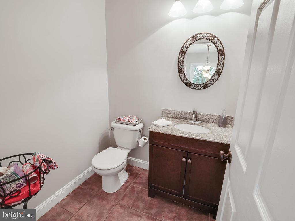 Powder room on main level - 11701 FAIRMONT PL, IJAMSVILLE