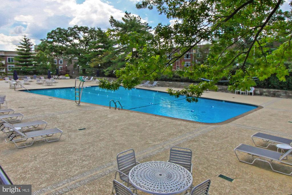 Well-Maintained Pool Area - 1200 N NASH ST #1148, ARLINGTON