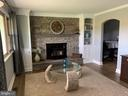 Beautiful custom touches including stone fireplace - 11504 HESSONG BRIDGE RD, THURMONT
