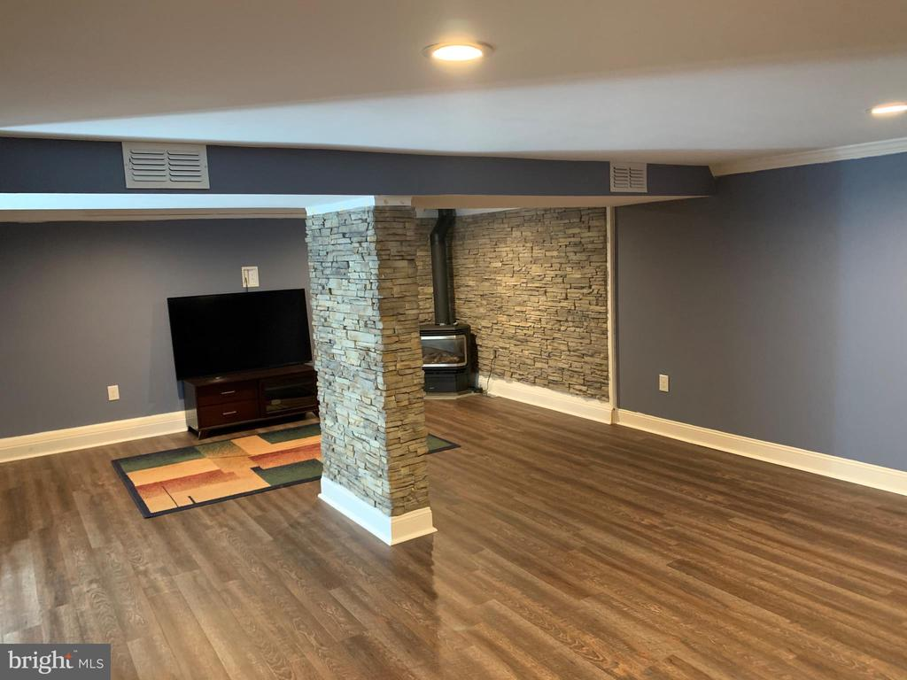 Lower level game room - 11504 HESSONG BRIDGE RD, THURMONT