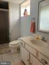 Lower level full bath with amazing shower - 11504 HESSONG BRIDGE RD, THURMONT