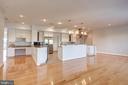 Spacious Chef's Kitchen Opens to FR - 5511 COLORADO AVE NW #501, WASHINGTON
