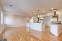 Open Concept Family Room/Kitchen - 5511 COLORADO AVE NW #501, WASHINGTON