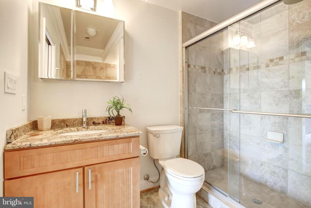 En Suite Master Bath - 5511 COLORADO AVE NW #501, WASHINGTON
