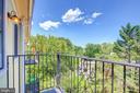 Balconies off Bedroom #3 and FR - 5511 COLORADO AVE NW #501, WASHINGTON