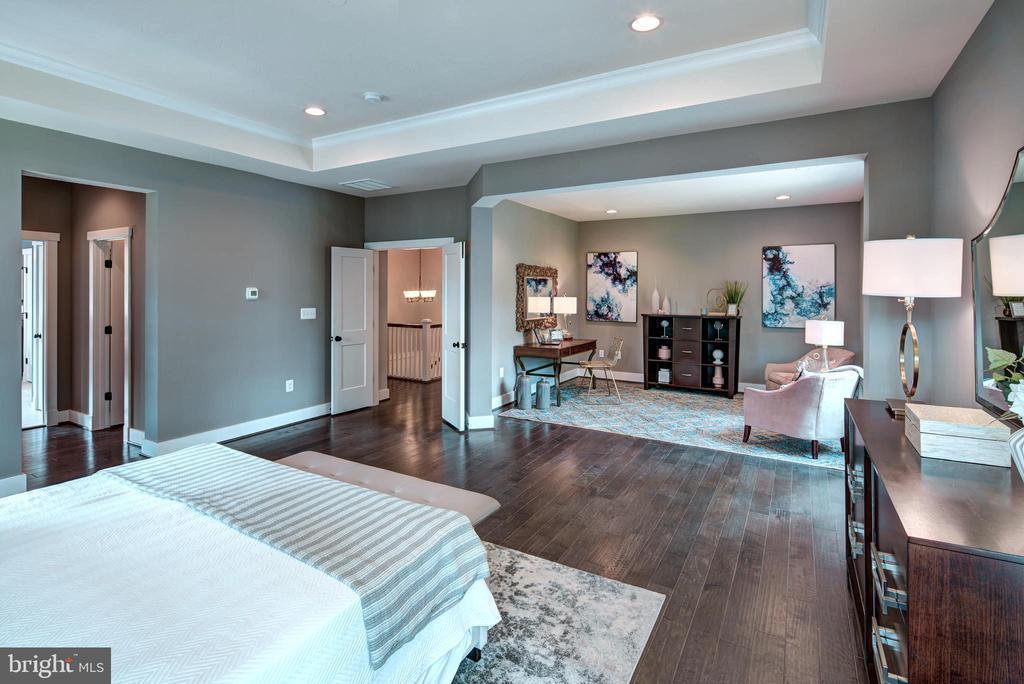 Sitting Room off Owner's Bed (previous model pic) - 3007 WEBER PL, OAKTON