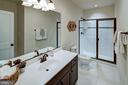 Basement Full Bath (previous model pic) - 3007 WEBER PL, OAKTON